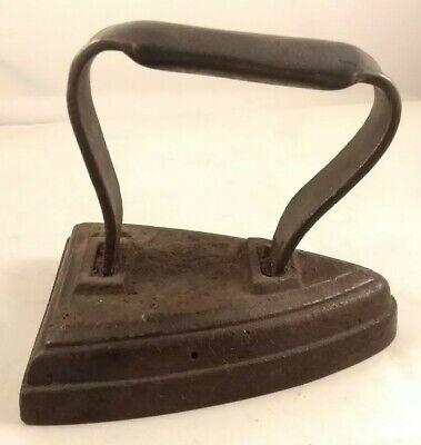 Vintage Flat Cast Iron Number 4 no Four Door Stop ?