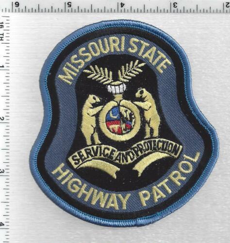 State Highway Patrol (Missouri) 5th Issue Shoulder Patch