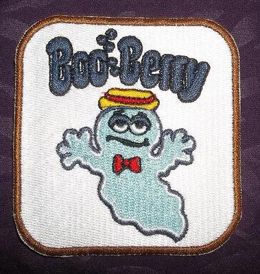 BOO BERRY PATCH MONSTER BREAKFAST  CEREALS FRANKEN BERRY COUNT CHOCULA CARTOONS