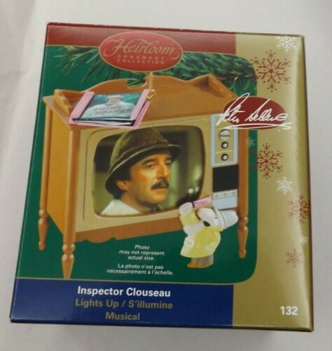Inspector Clouseau TV Console Ornament Light & Musical Pink Panther Sellers  NEW