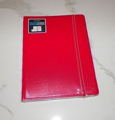 Filofax Refillable Notebook 6 14 X 8 12 Red New
