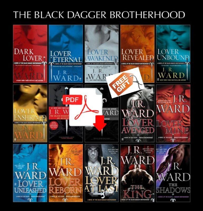 The Savior Black Dagger Brotherhood Series Lot (1-17) J.R. Ward [ E-ß00K , PÐF ]