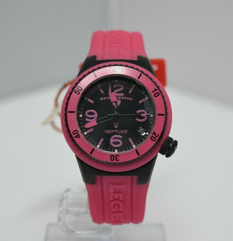 Swiss Legend Swiss Sapphitek 39mm Small SL-11840P Watch Pink/Black