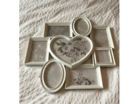 Next Heart Frame Collage Light Grey