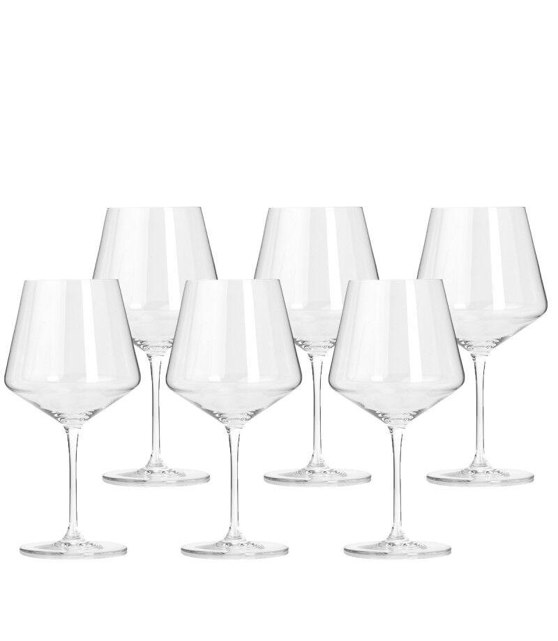 LEONARDO 6 x Burgunder-Glas PUCCINI 069555 Burgundergläser 6er-Set - 730 ml