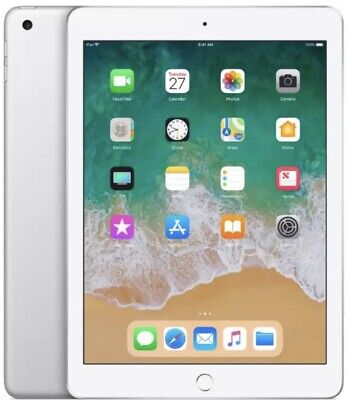 **SEALED** Apple iPad 6th Generation (2018) 32GB Wi-Fi Silver MR7G2B/A A1893