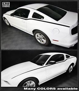 Ford Mustang Rtr Style Side Stripes 2013 2014 2010 2011