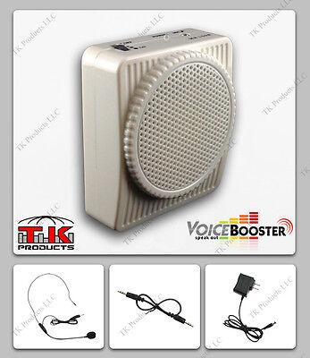 Costume VoiceBooster Voice Amplifier 10W Stormtrooper Armor White MR1508 (Aker)