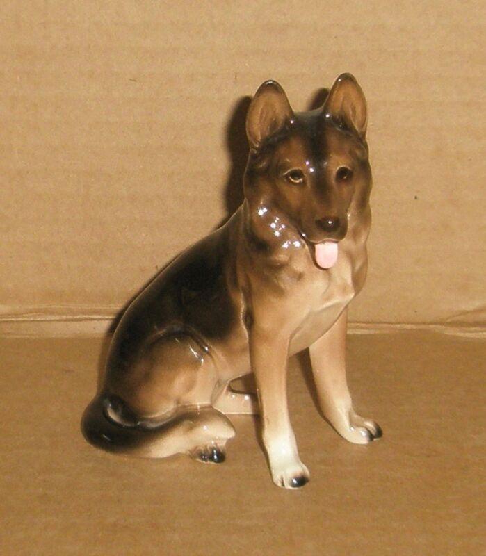Dog Figurine German Shepherd