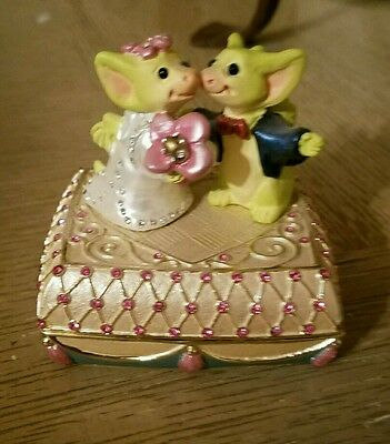 Whimsical World Of Pocket Dragons Wedding Wishes Box Real Musgrave