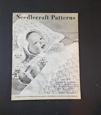 Vintage Needlecraft Patterns Catalog (Not a pattern), mid 1900s