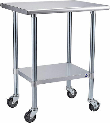 Rockpoint Nsf Stainless Steel Commercial Kitchen Work Table R15c Sale