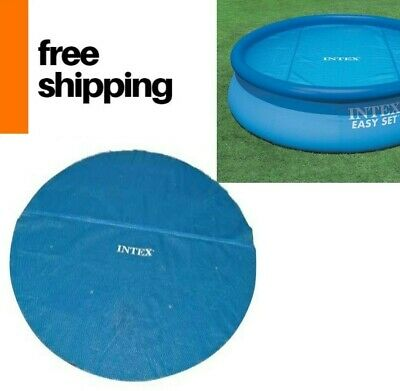 Solar Round Pool Cover Warmer Swimming Pools Heating Blanket Heat Retention 12ft