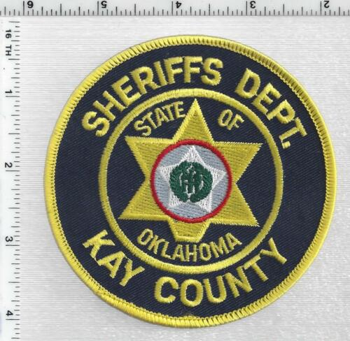 Kay County Sheriff (Oklahoma) 2nd Issue Shoulder Patch