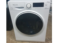 m454 BRAND NEW white hotpoint 10kg A+++ washing machine comes with warranty can be delivered
