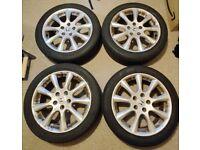 Honda Alloy Wheels with Tyres 225/45/17