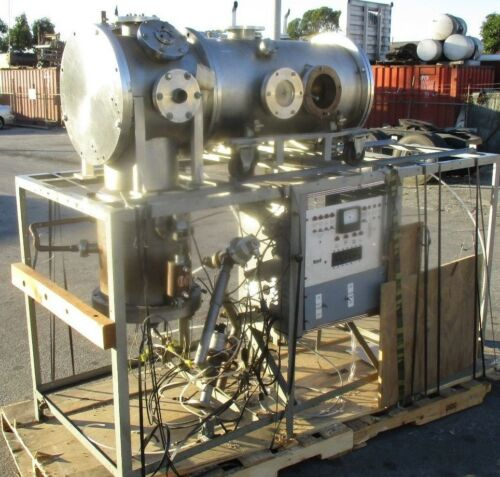 EXPENSIVE AUTOCLAVE TYPE STAINLESS VACUUM DEPOSITION CHAMBER
