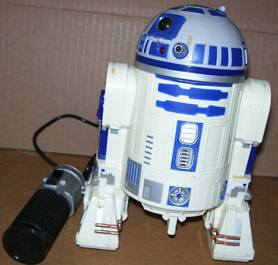 Star Wars 1997 R2D2 Robot Motion Remote Control Figure Doll Lucasfilm Hasbro for sale  Shipping to Ireland