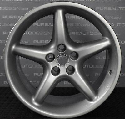 "Full Set of Four Genuine 18"" Ferrari 550 Maranello Alloy Wheels 165112 165110"