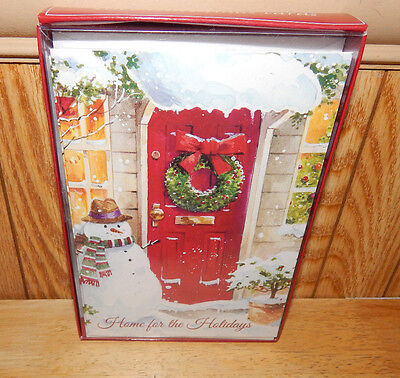Trim A Home Home For The Holidays Holiday Christmas Cards 18 ct W/ Envelopes (A New Home For The Holidays Card)