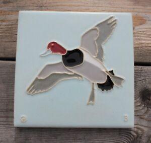 6 X 6 Mosaic Tile Co. Redhead Duck Tile