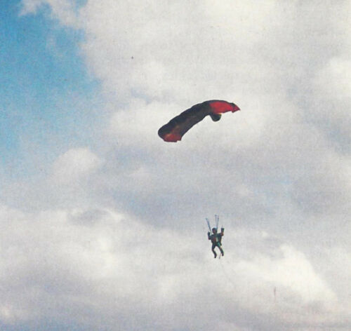 15 Inch Tall R/C Parachutist Skydiver Plans,Templates and Instructions