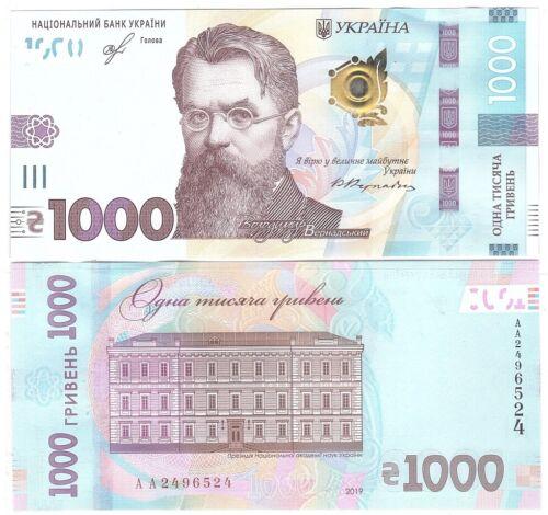 Ukraine - 1000 Hryven 2019 UNC Lemberg-Zp
