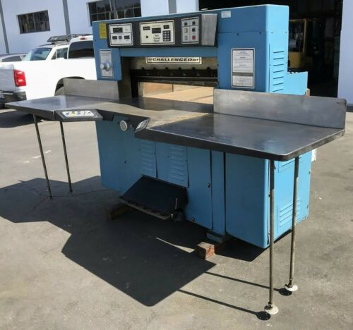 CHALLENGE, 420 TCM HYDRAULIC PAPER CUTTER,