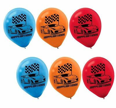 Hot Wheels Wild Racer Latex Balloons Boy Birthday Decoration Party Supplies Cars - Car Party Decorations