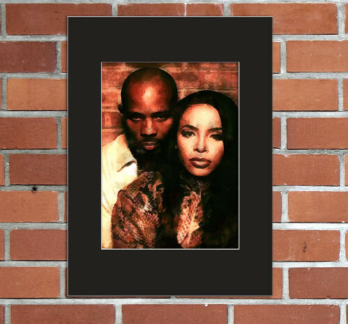 DMX Aaliyah Graphic Image Photo Picture 8x10 Mat 5x7 Print