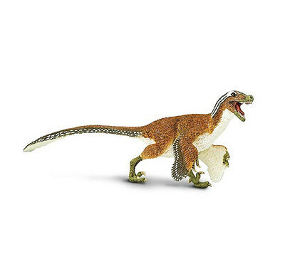 FEATHERED VELOCIRAPTOR Dinosaur 100032 ~ New 2017! Free Ship/USA w/$25+ SAFARI