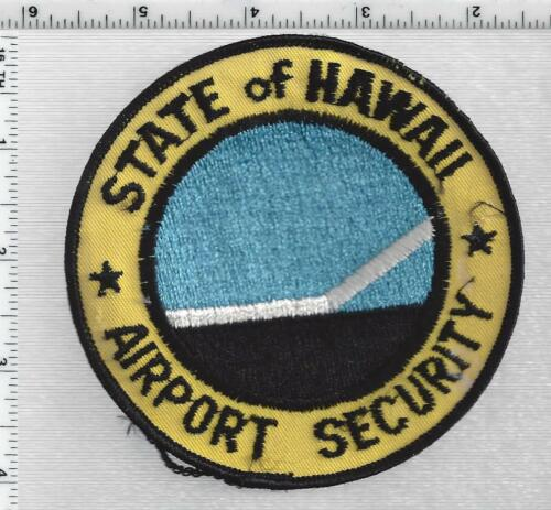 State of Hawaii Airport Security 1st Issue Shoulder Patch