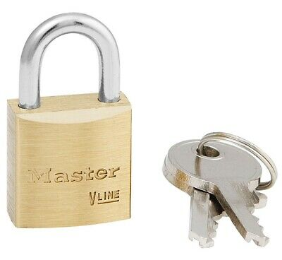 Master Lock 4120ka Brass Padlock Keyed Alike