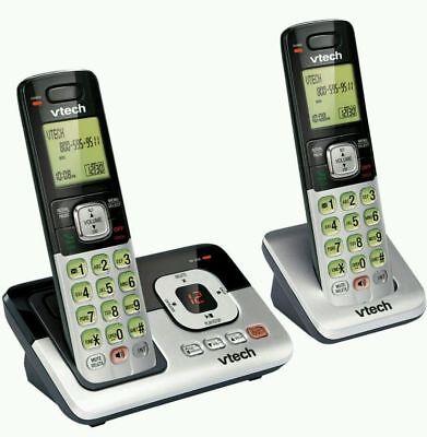 VTech 2 Handset Cordless Phone DECT 6.0 - Digital Answering Machine (CS6829-2) ™