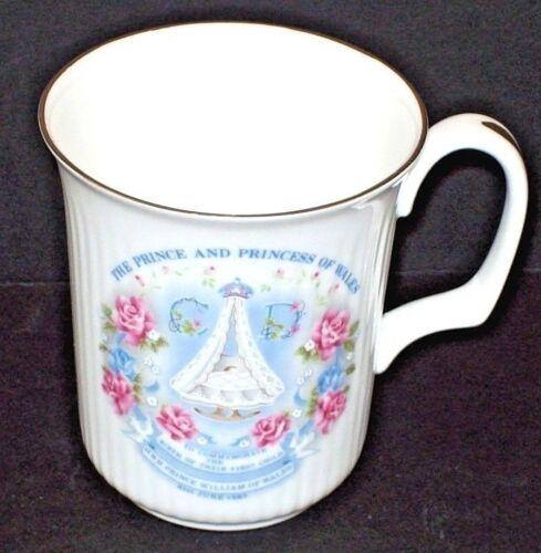 Royal Kent Prince William Birth Commemorative Cup Bone China 1982 Collectible