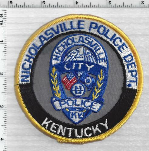 Nicholasville Police (Kentucky) 3rd Issue Shoulder Patch