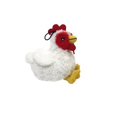 Look Who's Talking Chicken for Dog Toy Talks when your pet squeezes ()