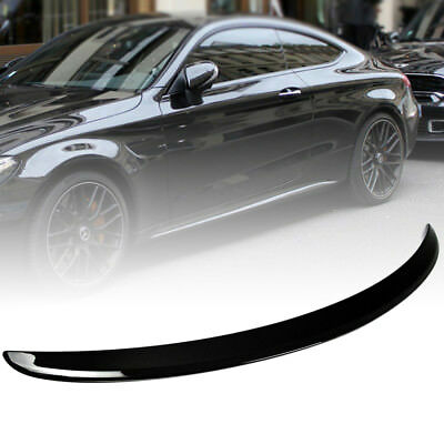 Stock in LA!Mercedes BENZ C-Class C205 Coupe A Trunk Spoiler Painted #040 Black
