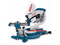 "BOSCH GCM 10 S 10"" SLIDING MITRE SAW Like Dewalt Makita Hitachi"