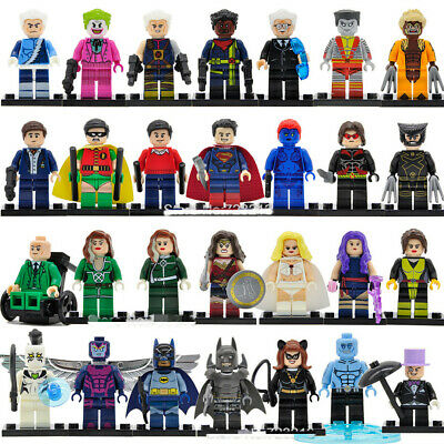 Marvel x-men Wolverine Cyclops Deadpool Minifigures Phoenix SuperHeroes Toy