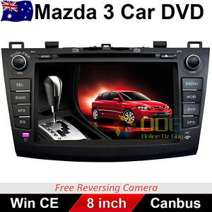 8 Inch MAZDA 3 GPS Car DVD Player Head Unit Nav With Canbus 2009-2013