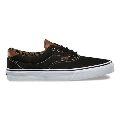 Vans Era 59 C&L Black italian Weave Men's 13 Skate Shoes Sneakers New