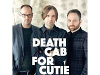 Death Cab For Cutie Ticket - Scala, London - 19th June 2018