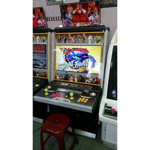 NEW 4000 Game Aracde Machine - Styled as Tekken & Street Fighter Sumner Brisbane South West Preview