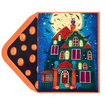 Papyrus Violeta Dabija Haunted House Pop Out Windows Halloween Treats Card](Halloween Pop Out Card)