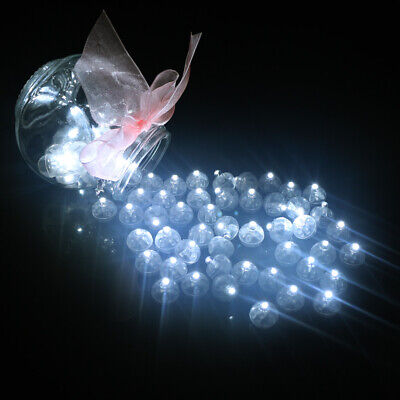 Led Lighted Balloons (50 Led Ball Lamps Balloon Light for Paper Lantern Wedding Party Decoration)