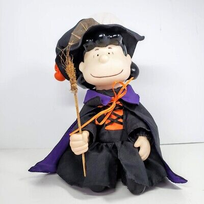 Gemmy Animated Lucy Halloween Witch Doll Plays Peanuts Theme Song See Video](Song Theme Halloween)
