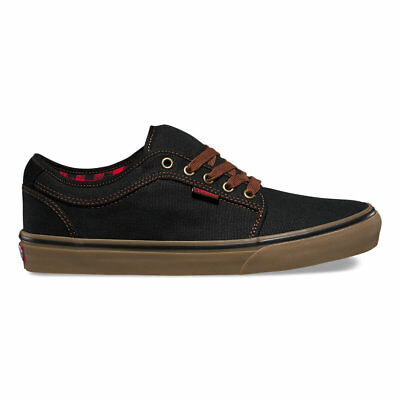 Vans Chukka Low (Buffalo Suede) Black Gum Skate Shoes Mens Size