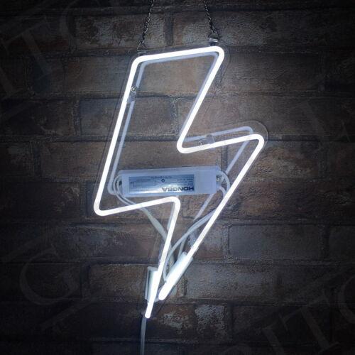 Thunder Shape Neon Sign Light Bar Beer Vintage Night Club Ho