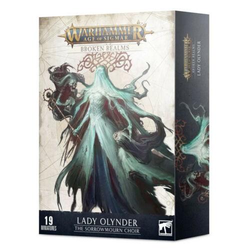 Lady Olyner : The Sorrowmourn Choir : Warhammer Age of Sigmar Broken Realms
